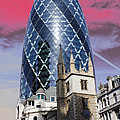 The Gherkin London by Jasna Buncic