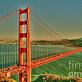 The Golden Gate Bridge Summer by Alberta Brown Buller