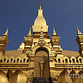 The Golden Palace Laos by Bob Christopher