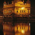 The Golden Temple Is Reflected by James P. Blair