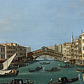 The Grand Canal by Antonio Canaletto