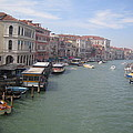 The Grand Canal In The Morning by Angela  Rose