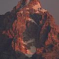The Grand Teton At Sunrise by Drew Rush