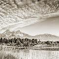 The Grand Tetons In Jackson Wyoming by Dustin K Ryan