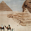 The Great Sphinx And The Second, Or by Hans Hildenbrand