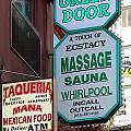 The Green Door San Francisco by Wingsdomain Art and Photography