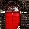 The Guitar And The Red Door by Bill Cannon