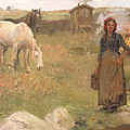 The Gypsy Camp by Harold Harvey