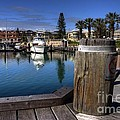 The Harbour At Mindarie by Rob Hawkins
