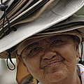 The Hat Lady Costa Rica by Bob Christopher