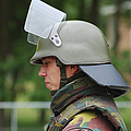 The Helmet And Visor Used by Luc De Jaeger