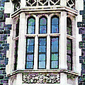 The Heritage Windows Of The Teachers' College by Steve Taylor