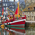 The Historic Fishing Village Of Honfleur by Louise Heusinkveld