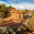 The Hogan Where  We Stayed Canyon Dechelly Nps by Bob and Nadine Johnston