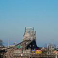 The Horace Wilkinson Bridge Over The Mississippi River In Baton Rouge La by Susanne Van Hulst