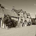 The Inn Freshford 1 Sepia by Ed Lukas