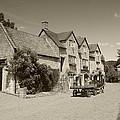 The Inn Freshford 2 Sepia by Ed Lukas