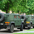 The Iveco Lmv Of The Belgian Army by Luc De Jaeger