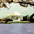 The Jefferson Memorial by Mike Nellums