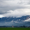 The Kamnik Alps After A Storm by Ian Middleton