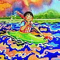The Kayak Racer 12 by Hanne Lore Koehler