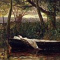 The Lady Of Shalott by Walter Crane