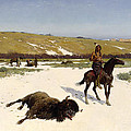 The Last Of The Herd by Henry Francois Farny