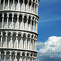 The Leaning Tower Of Pisa Italy by Mike Nellums