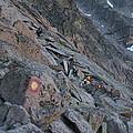 The Ledges On Longs Peak by Cynthia Cox Cottam