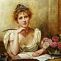 The Letter by George Goodwin Kilbourne