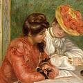 The Letter  by Pierre Auguste Renoir