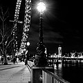 The London Eye At Night by David Pyatt