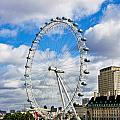 The London Eye by Jim Pruett