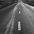 The Long Road Home . 7d9898 . Black And White by Wingsdomain Art and Photography