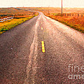 The Long Road Home . Painterly Style by Wingsdomain Art and Photography