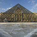 The Louvre Pyramid Paris by Mike Nellums