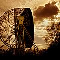 The Lovell Telescope At Jodrell Bank by Mark Stevenson