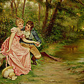The Lovers by Joseph Frederick Charles Soulacroix
