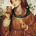 The Loving Cup by Dante Charles Gabriel Rossetti