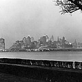 The Lower New York Skyline by Underwood Archives