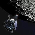The Lunar Crater Observation by Stocktrek Images