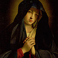 The Madonna In Sorrow by Il Sassoferrato