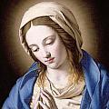 The Madonna Praying by Il Sassoferrato