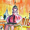The Magical Roofs Of Prague 01 Bis by Miki De Goodaboom