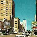 The Majestic Theatre In Abilene Tx 1958 by Dwight Goss