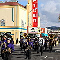 The Marching Band At The Uptown Theater In Napa California . 7d8925 by Wingsdomain Art and Photography