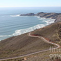 The Marin Headlands - California Shoreline - 5d19593 by Wingsdomain Art and Photography