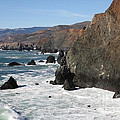 The Marin Headlands - California Shoreline - 5d19692 by Wingsdomain Art and Photography