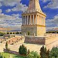 The Mausoleum At Halicarnassus by English School
