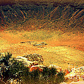 The Meteor Crater In Az 1 by Susanne Van Hulst